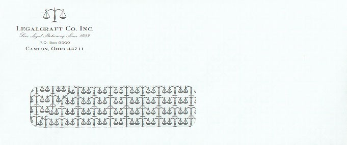 #10 Security Printed Mailing Envelopes Window White Wove Finish 500ct.