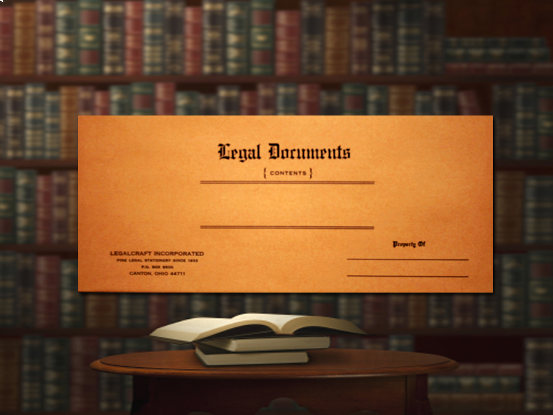 Kraft Legal Document Envelope - Cameo Buff - 10 ½ x 4 ½  - 50ct.